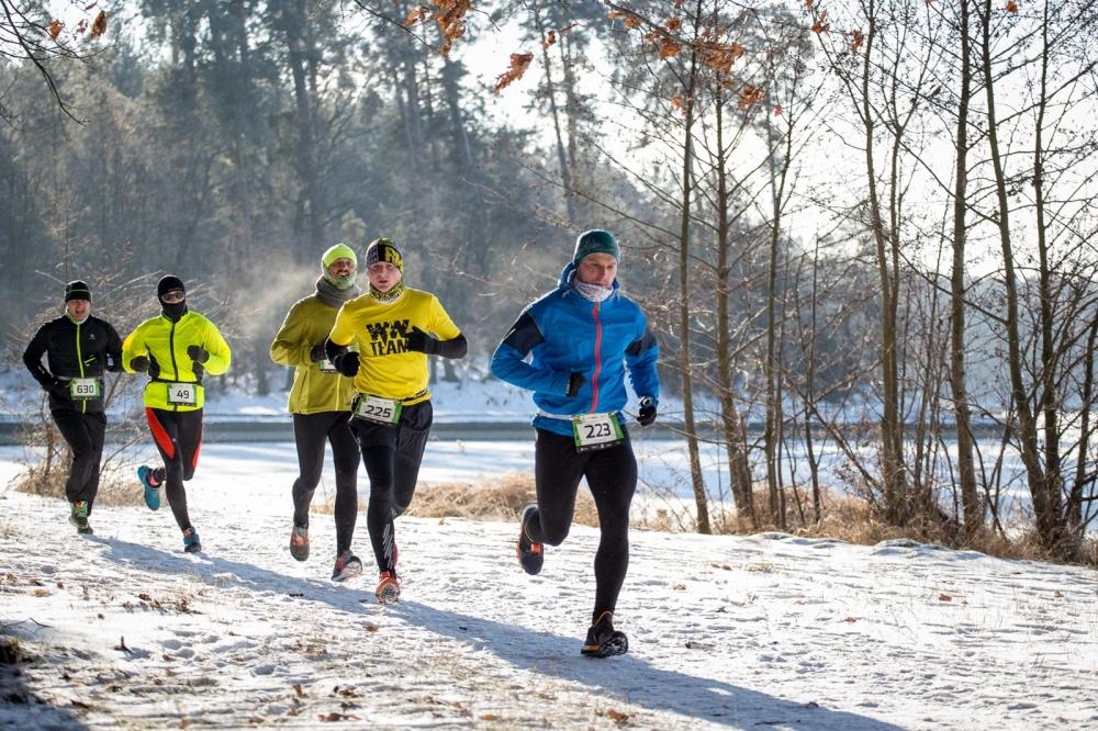Rekord zimna podczas CITY TRAIL w Lublinie