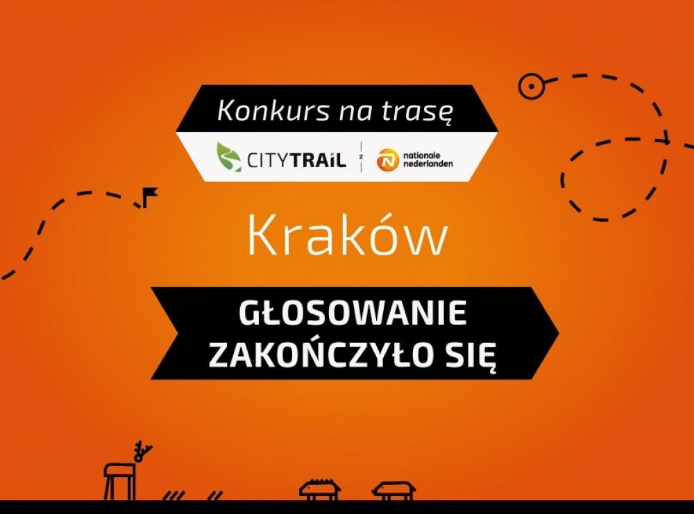 Konkurs na trasę CITY TRAIL w Krakowie rozstrzygnięty!