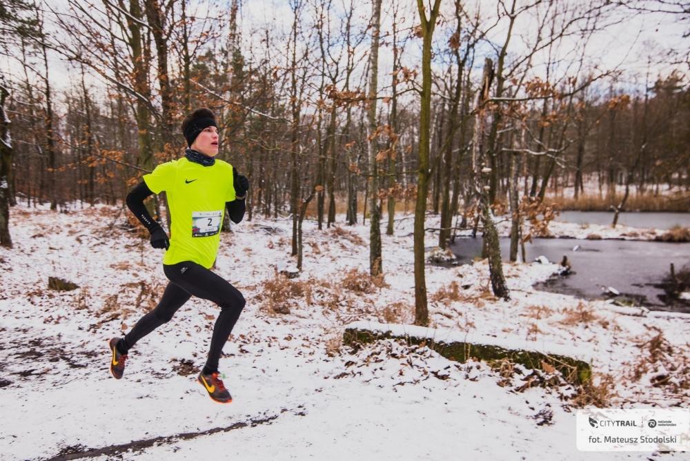 Pierwszy bieg w zimowej aurze!
