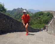 Marcin Świerc na The Great Wall Marathon