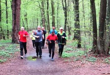Pół roku wspólnego biegania