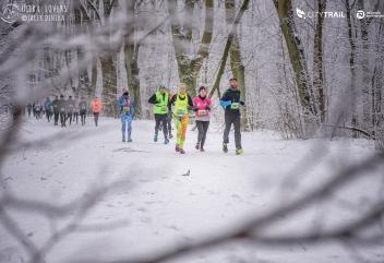 Warszawa przykryta śniegiem