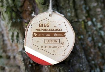 Prezentujemy medal Biegu Niepodległości w Lublinie!