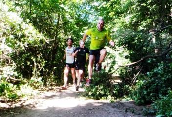 Jak ćwiczyć, to tylko w lesie! ;)