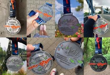 Pamiątkowe medale dostępne w każdym z miast