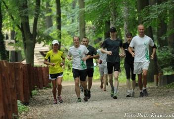 Szczecińskie treningi nad Jeziorem Szmaragdowym
